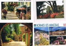 210213A Lot De 95 CPM Couleur Vierges Pour Courrier : Dep.83 Bormes Les Mimosas - Cartes Postales