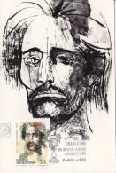 Carte Maximum Portrait - Argentine
