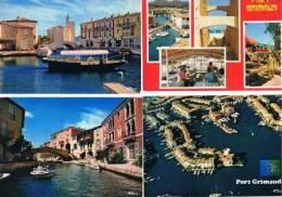 210213B Lot De 60 CPM Couleur Vierges Pour Courrier : Dep.83 Port Grimaud - Cartes Postales