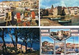 210213D Lot De 85 CPM Couleur Vierges Pour Courrier : Dep.83 (Var) Saint Tropez - Cartes Postales