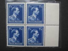 Timbre Belgique : Leopold III  COB N° 642 1943 ** - 1936-1957 Offener Kragen