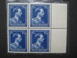Timbre Belgique : Leopold III  COB N° 642 1943 ** - 1936-1957 Col Ouvert