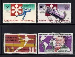 SENEGAL- Divers Timbres De La Poste Aerienne - Oblitérés - Sénégal (1960-...)