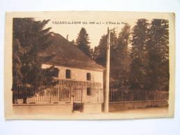 Cpa, Très Belle Vue, Villard De Lans, L´hôtel Du Parc - Villard-de-Lans