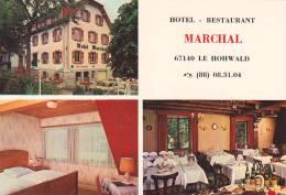 21789 Hotel Restaurant Marchal, Le Hohwald. Multi Vues, Eliophoto, Aix - Non Classés