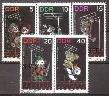 ALLEMAGNE,(DDR)DEUTSCHLAN D,GERMANY,GERMANIA,ALEMAN IA,OBLITERE,YVERT 728/32. - [6] République Démocratique