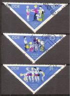 ALLEMAGNE,(DDR)DEUTSCHLAND,GERMANY,GERMANIA,ALEMANIA,OBLITERE,YVERT 748/50. - [6] République Démocratique