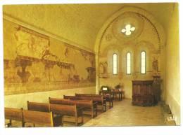 16 CRESSAC  Interieur De La Chapelle Des Templiers Environs De BLANZAC PORCHERESSE Cpm Charente - Non Classés