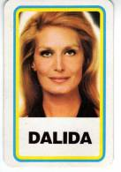 "Carte Petit Format Du ""jeu Des Vedettes "" : "" Dalida  "" - Old Paper"