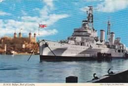 H.M.S. BELFAST, POOL OF LONDON - Warships