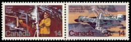 Canada (Scott No. 766a - Les Mines / Mines) [**] - Minéraux