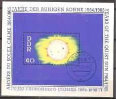 ALLEMAGNE,(DDR)DEUTSCHLAND,GERMANY,GERMANIA,ALEMANIA,OBLITERE,BLOC YVER 16. - [6] République Démocratique