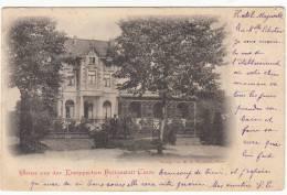 SELTEN !! GRUSS AUS DER KNEIPPSCHEN HEILANSTALT CLEVE ( BAD CLEVE ) 1899 !!!! Précurseur - Kleve