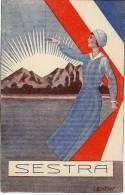AK ROTES KREUZ Jugoslawischen Gesellschaft Diplomkrankenschwestern Signiert Karte : I.Bencan,  OLD POSTCARD - Rotes Kreuz