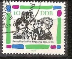 ALLEMAGNE,(DDR)DEUTSCHLAND,GERMANY,GERMANIA,ALEMANIA,OBLITERE,YVER 725. - [6] République Démocratique