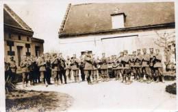 "Militär Musikkapelle, Fotokarte 1915, Feldpost, Zensur Stempel + FP -Stempel ""K.D.FELD POSTEXPED 18.INF.DIV."" - Regimente"