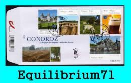 """FDC (4280/4284) Signé/ Getekend - """"Le Condroz"""" - BELGIQUE - 2011-..."""