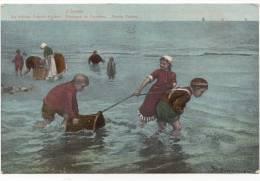 ENFANT - PECHEURS DE CREVETTES - SHRIMP FISHERS - J. ISRAELS 1910 - Enfants