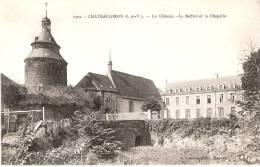 35 CHATEAUGIRON  Le Chateau Le Beffroi Et La Chapelle - Châteaugiron