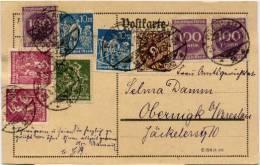 N28 Ganzs. DR St. Breslau N. Obernigk - Briefe U. Dokumente