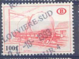 F93 -België  Spoorweg Chemin De Fer TR451 Gestempeld  LOUVIERE-SUD - Chemins De Fer