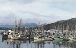 Fisherman's Wharf, Queen Charlotte City, Graham Island, British Columbia, Canada, 40-60s - British Columbia