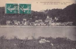 CPA - 76 - VILLEQUIER - Vue Générale Prise De La Rive Gauche - 29 - Villequier