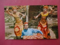 Bali -- Early Chrome---- Ref- 841 - Indonesia