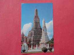 Bankok Thailand - Wat Aroon  Temple Of Dawn - Early Chrome---- Ref- 841 - Indonesia