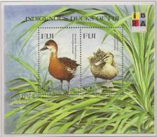 FIJI 1999 Native Ducks SG MS1049 UNHM #EV044 - Fiji (1970-...)