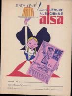 """PROTEGE CAHIER PUBLICITAIRE """" LEVURE ALSACIENNE - Blotters"""