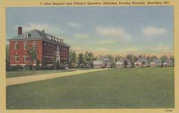 Maryland Aberdeen Post Hospital And Officers Quarters Aberdeen P