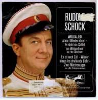 """7"""" Zoll Single : Rudolf Schock  -  Wolgalied - Eurodisc 19566 AE  -   """"Der Zarewitsch"""" - Allein! - Wieder - Germany 1964 - Vinyl-Schallplatten"""