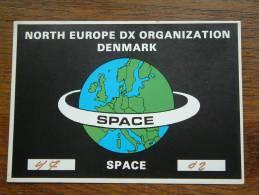 SPACE / Helmer H. Kristensen Bjerringbro ( Denmark ) Anno +/- 1982 ( 2 Cards / Zie Foto Voor Details ) - CB