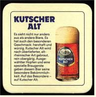 Bierdeckel  Kutscher Alt  -  Es Hat Besonderen Geschmack - Sous-bocks