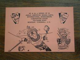 MAGNA 120 Int. Sidebanders Newquay Cornwall / N° 6  ( U.K. ) Anno +/- 1982 ( Zie Foto Voor Details ) - CB