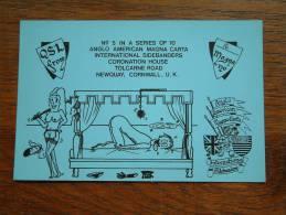 MAGNA 120 Int. Sidebanders Newquay Cornwall / N° 5  ( U.K. ) Anno +/- 1982 ( Zie Foto Voor Details ) - CB