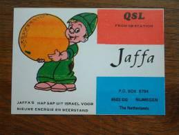 JAFFA Nijmegen ( Holland / Netherlands ) Anno +/- 1980 ( Zie Foto Voor Details ) - CB