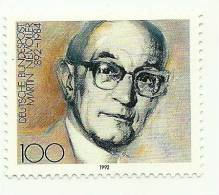 1992 - Germania 1416 Martin Niemoller, - Teologi
