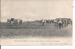 JOUY LE CHATEL - Comiité Agricole - Comcours De Labourage - France