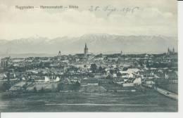 Ansichtskarte Hermannstadt, Gesamtansicht, 1916 - Roumanie