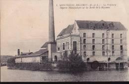 49 Montreuil Belfroy La Tréfilerie Manufacture Bord De Mayenne - Industry