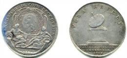 LOUIS XIV . LYON . CHAMBRE De COMMERCE . JETON ARGENT . 1704 . - Adel