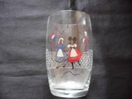Verre A Biere Emaille Alsace Lorraine - Gläser