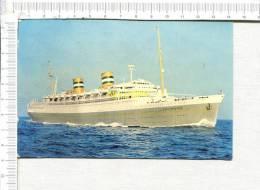 HOLLAND AMERICA LINE  S. S.  NIEUW AMSTERDAM  - - Dampfer