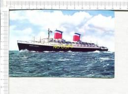 Length 990 Ft.  S.S. UNITED STATES - Dampfer