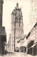 79 BRESSUIRES L'EGLISE COTE SUD CARTE PRECURSEUR CIRCULEE 1905 - Bressuire