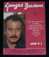 GEORGES BRASSENS Album N°8 Editions Musicales 1962 Dans L'eau De La Claire Fontaine... - Spartiti