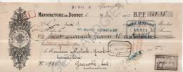 25 320 OUGNEY DOUVOT DOUBS 1913 Manufacture GASTON SAGLIO Cie tampon MAIROT DETREY de BESANCON