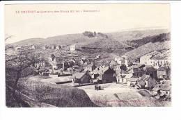 LE CREUSOT  --  Quartier Des Riaux Dit Les ''Baraques'' - Le Creusot